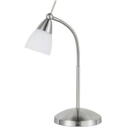 Paul Neuhaus Pino 4430-55 Nachttischlampe Eco Halogen G9 28W Stahl