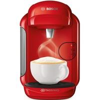 Bosch Tassimo Vivy 2 TAS1402 just red + Gutschein + TDiscs + Latte Macchiato