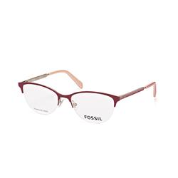 Fossil FOS 7011 6K3, inkl. Gläser, Cat Eye Brille, Damen