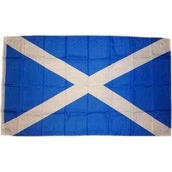 XXL Flagge Schottland 250 x 150 cm Fahne mit 3 Ösen 100g/m² Stoffgewicht