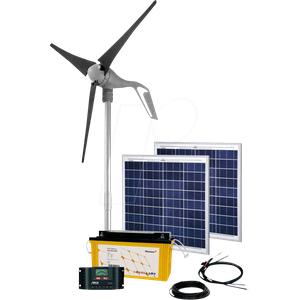 PHAESUN PN-SK3 - Hybridsystem, Solar und Wind, 200 W