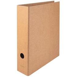 FALKEN PURE Ordner braun Karton 8,0 cm DIN A4