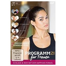 Programm 21 für Frauen  2 DVD-Videos - DVD  Filme