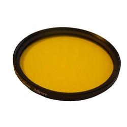 vhbw Universal Farbfilter 58mm gelb passend für Kamera Canon MP-E 65 mm 2.8 (Lupenobjektiv), Canon TS-E 90 mm 2.8.