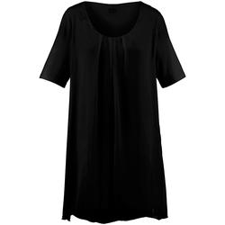 Shirt Blusen-Shirt mit 1/2-Arm Anna Aura schwarz