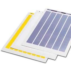 Phoenix Contact Etikettenbogen für Laserdrucker BMKL 18X 8 WH