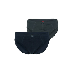 s.Oliver Men Big Sizes Lange Unterhose Slip (1 Stück) gelb 3XL