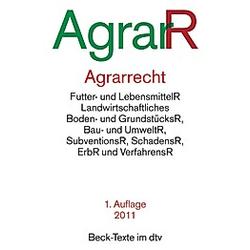 Agrarrecht AgrarR - Buch