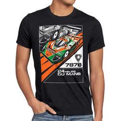 style3 Print-Shirt Herren T-Shirt 787B 4-Rotor wankel motor japan le mans M