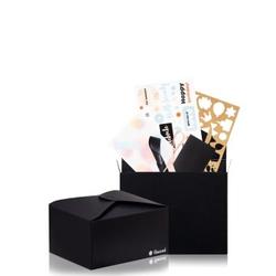 flaconi DIY-Geschenkverpackung Black Edition opakowanie na prezent  1 Stk