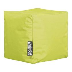 SITTING POINT Cube SCUBA Sitzsack grün