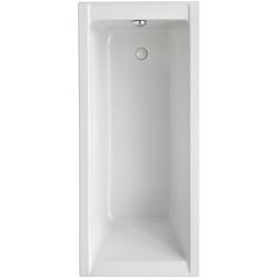 OTTOFOND Badewanne Set Körpferformbadewanne, (3-tlg), 1800/800/400 mm, Körperformbadewanne