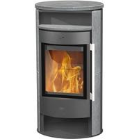 Fireplace Durango Stahl gussgrau/Speckstein