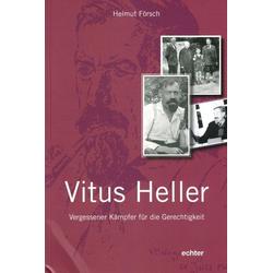 Vitus Heller als Buch von Helmut Försch