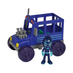 SIMBA Actionfigur PJ Masks Ninja mit Bus