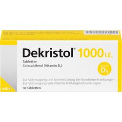 DEKRISTOL 1.000 I.E. Tabletten 50 St.