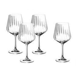 Nachtmann Gläser-Set Gin Tonic Gläser 4−teilig, Kristallglas