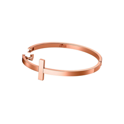 Lotus Style Armreif JLS1875-2-3 Lotus Style Armband Armreif kupfer (Armreifen), für Damen aus Edelstahl (Stainless Steel)