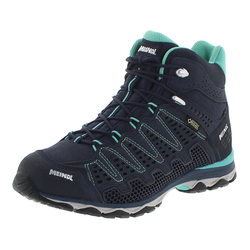 Meindl X-SO 70 LADY MID GTX Marine Türkis Damen Hiking Stiefel, Grösse: 42 (8 UK)
