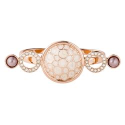 Pippa&Jean Ring  Messing Glaskristalle Glasperle roségold