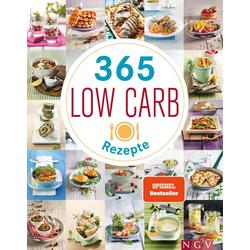 365 Low-Carb-Rezepte: Buch von