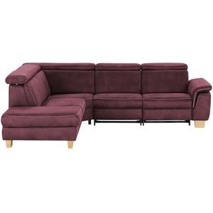 Mein Sofa bold Ecksofa  Beata ¦ rot