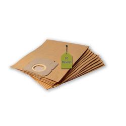 eVendix Staubsaugerbeutel 10 Staubsaugerbeutel Staubbeutel passend für Staubsauger Moulinex AW 56.01, passend für Moulinex