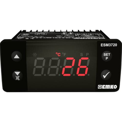 Emko ESM-3720.8.10.0.1/01.00/1.0.0.0 2-Punkt und PID Regler Temperaturregler K 0 bis 999°C Relais 1