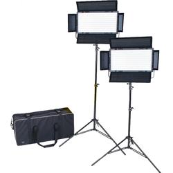 DÖRR DLP-820 LED Set (2 x Leuchte / 2 x Stativ / Tasche)