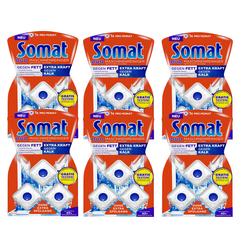Somat Maschinenreiniger 6er Pack Spülmaschinen Tabs 6x3 Stück Reiniger Reinigung