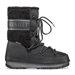 Moon Boots Monaco Wool Mid WP - Moon Boots - Damen Black 39 EUR