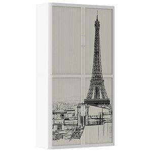 PAPERFLOW Rollladenschrank Paris keine Fachböden