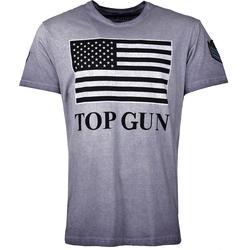 Top Gun Search, T-Shirt - Blau - XL
