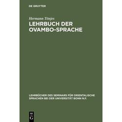 Lehrbuch der Ovambo-Sprache als Buch von Hermann Tönjes