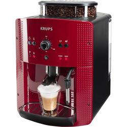 Krups Kaffeevollautomat EA8107, 1,8l Tank, Kegelmahlwerk, Kaffeevollautomat, 774117-0 rot rot