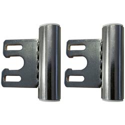 Türbeschlag, Bandmittelteil für Stahlzarge, Edelstahl