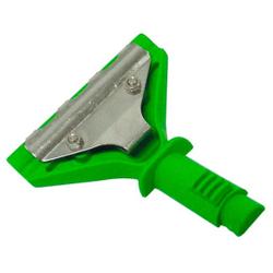 UNGER VisaVersa Wischerkopf, Wischerkopf für Fensterwischer, Farbe: Grün