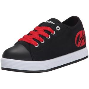 Heelys X2 Fresh Turnschuhe, Schwarz (Black/Red), 35 EU