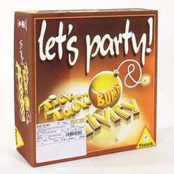 Piatnik Lets Party Activity Tick Tack Bumm Let's Party Activity Tick Tack Bumm 6382