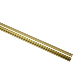 Klemmträger Gardinenstange Ø 20 mm messing-matt 160, GARDINIA