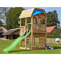 Jungle Gym Spielturm Jungle Barn, BxTxH: 210x380x320 cm