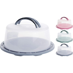 Vani Kuchenbehälter + gratis Solinger Messer - Kuchenglocke Tortenglocke Tortenhaube Kuchenbehälter Tortenbehälter Muffinbehälter Transportbox