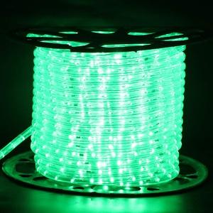 XUNATA 220V-240V LED Lichterschlauch Licht Leiste 36LEDs/m IP65 Wasserdicht Schlauch Seil Lichter für Innen Außen Garten Party Weihnachten Deko(Grün,1M)