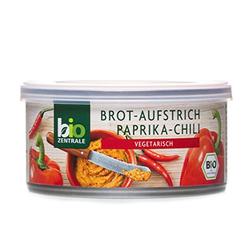 biozentrale Brotaufstrich Paprika-Chili, 6er Pack (6 x 125 g)