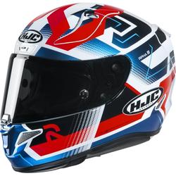 HJC RPHA 11 Nectus Helm, weiss-rot-blau, Größe 2XL