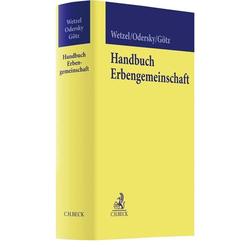 Handbuch Erbengemeinschaft als Buch von