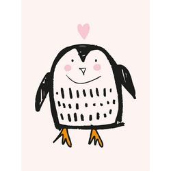 Lüttenhütt Leinwandbild Pinguin