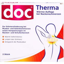 DOC THERMA Wärme-Auflage bei Nackenschmerzen 2 St.