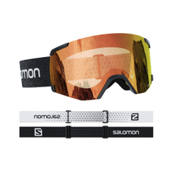 Salomon - S/View Photo Bk/Aw Red - Skibrillen