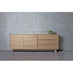 Ethnicraft Oak Wave 205 cm - Sideboard